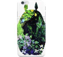 Totoro from Hayao Miyazaki - colorful iPhone Case/Skin