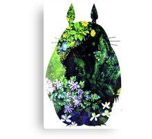 Totoro from Hayao Miyazaki - colorful Canvas Print