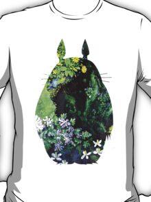 Totoro from Hayao Miyazaki - colorful T-Shirt