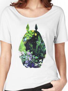 Totoro from Hayao Miyazaki - colorful Women's Relaxed Fit T-Shirt