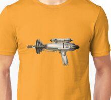 Silver Ray Gun Unisex T-Shirt