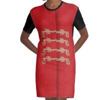 A La Militaire No.1 Graphic T-Shirt Dress