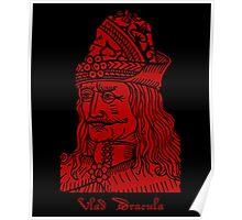 Vlad Dracula Tepes The Impaler Vampire Poster