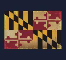 Maryland State Flag VINTAGE Kids Clothes