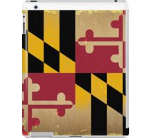 Maryland State Flag VINTAGE iPad Case/Skin