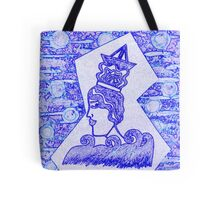 She Is The Sea by Nikki Ellina Tote Bag
