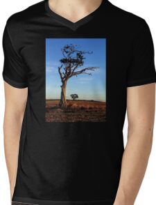 One Tree, Here and There Mens V-Neck T-Shirt