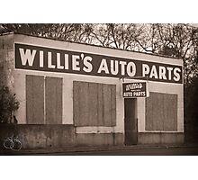 Willie's Photographic Print