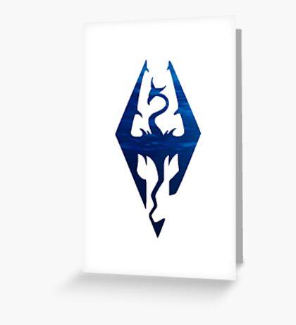 Skyrim has drowned Greeting Card