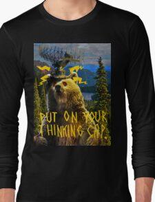 Thinking Cap Long Sleeve T-Shirt