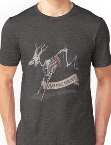 Strange Biology Rustic Antelope Skeleton Unisex T-Shirt