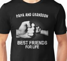Papa and Grandson best friends for life Xmas Unisex T-Shirt