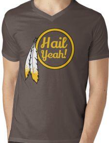 Redskins - Hail Yeah! Mens V-Neck T-Shirt