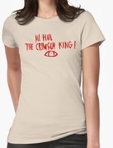 The Crimson King Womens Fitted T-Shirt