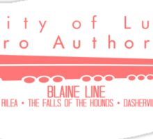 Blaine is a Pain Sticker