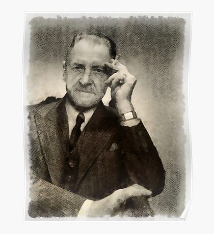 Somerset Maugham, Author Poster