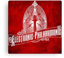 Electronic Philharmonic Canvas Print