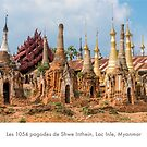 The 1054 pagodas of Shwe Inthein, Lac Inle, Myanmar by Jacinthe Brault