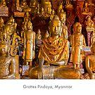 Pindaya caves, Myanmar by Jacinthe Brault