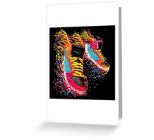 Zapatillas Moderna Greeting Card