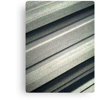 Steely grey Canvas Print