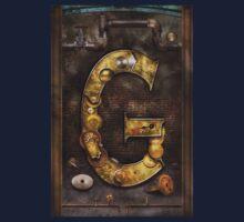 Steampunk - Alphabet - G is for Gears Kids Tee