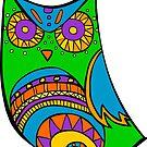 Deco Owl - Pinata by Cassie M.