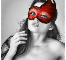 RED MASK  ... by NUDEIMPACT