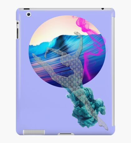 Knit  foam Ballerina iPad Case/Skin