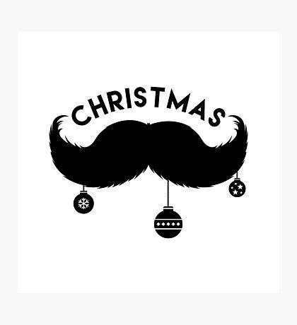 The christmas MAN! ;) Photographic Print