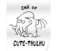 Call of Cute-Thulhu Poster