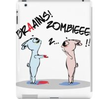 Halloween is coming! Zombie is already here! iPad Case/Skin