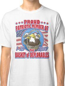 Deplorable Basket of Patriotic Eagles Classic T-Shirt