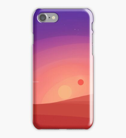 Dessert Sunset iPhone Case/Skin