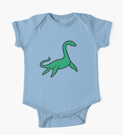 Cute Plesiosaur One Piece - Short Sleeve