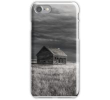 Back of the School - BW iPhone Case/Skin
