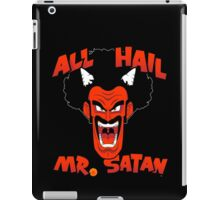 All Hail Mr. Satan iPad Case/Skin