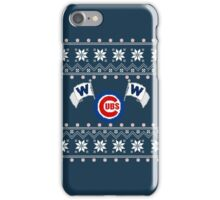 Merry Cubs-mas iPhone Case/Skin