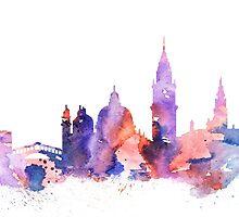 Venice by Watercolorsart