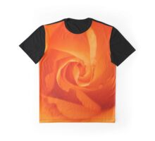 Beautiful Orange Rose Graphic T-Shirt