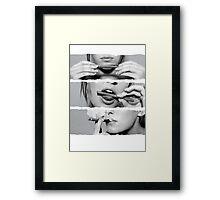blunt Framed Print