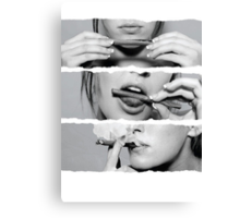 blunt Canvas Print