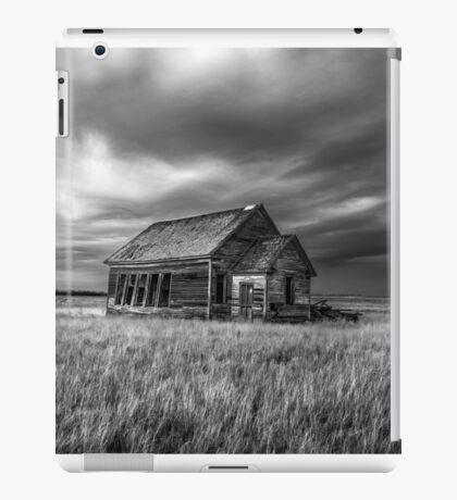 One Room Schoolhouse - BW iPad Case/Skin