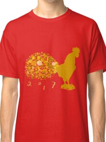 Festive 2017 Chinese Lunar New Year Of The Rooster Classic T-Shirt