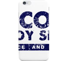Keith Scott Body Shop Logo iPhone Case/Skin