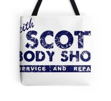 Keith Scott Body Shop Logo Tote Bag