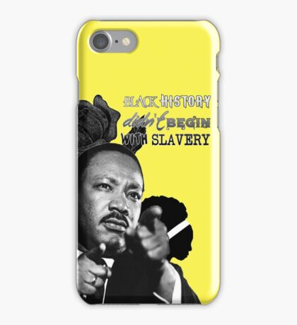 Martin Luther King Junior  iPhone Case/Skin