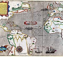 16th Century Map of the Known World by rrooke