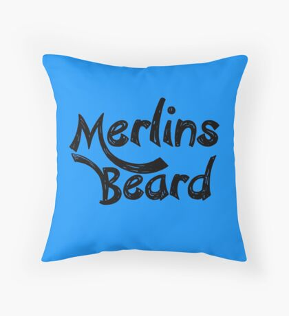 Merlin's Beard Throw Pillow