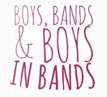 Boys in Bands by GenesisDesigns